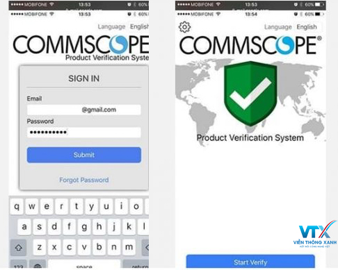 Commscope-product-verification