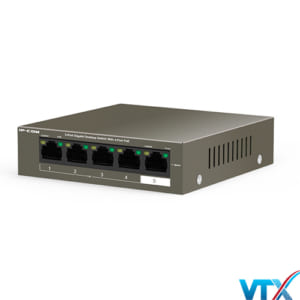 Switch mạng PoE IP-COM 5 port | PN : G1105P-4-63W