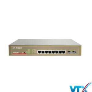 Switch mạng PoE IP-COM G3210P 8 port 1Gb + 2 SFP