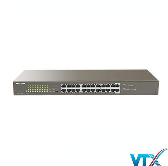 Switch mạng PoE IP-COM 24 port G1124P-24-250W