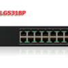 Switch mạng PoE Linksys LGS318P