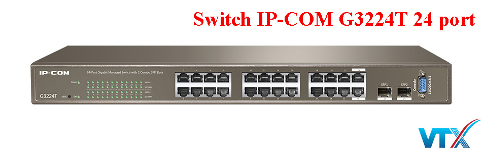 Switch mạng IP-COM G3224T 24 port