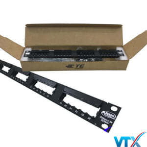 Patch panel 24 port Cat5e Commscope | PN: 760237040