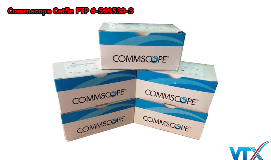Hạt mạng Cat5e FTP Commscope