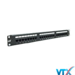 Patch panel Cat5e 24 Port LS | PN : LS-PP-UC5E-24P