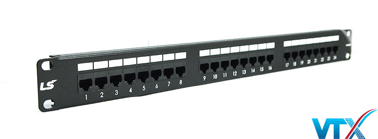Patch panel LS-PP-UC5E-24P