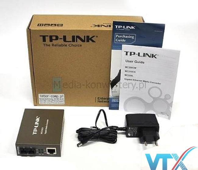 Converter quang TP-LINK MC210CS