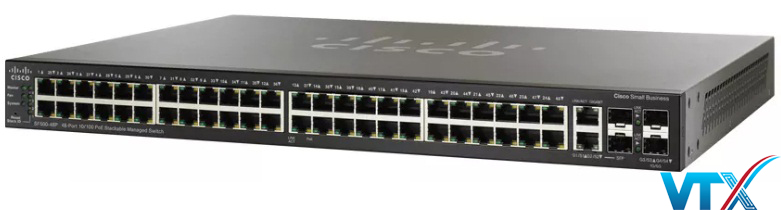 Switch chia mạng Cisco SF500-48