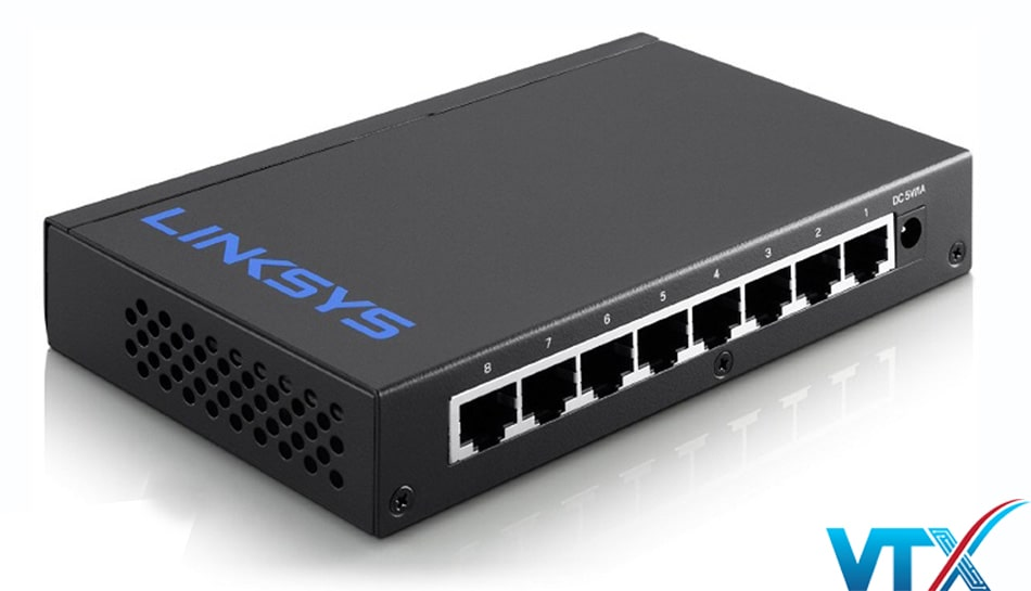 Switch chia mạng Linksys LGS-108 8Port