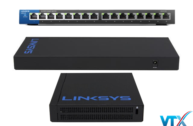 Switch chia mạng Linksys LGS116 16Port