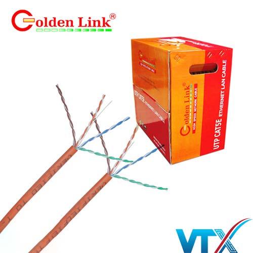 Cáp mạng Golden Link UTP Cat5e - 100m