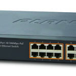 Switch chia mạng PLANET 16-port FNSW-1600P 10/100Mbps PoE