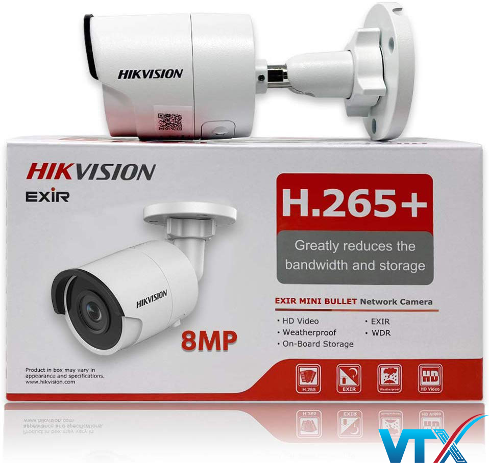 Camera IP 8.0 Megapixel HIKVISION DS-2CD2083G0-I