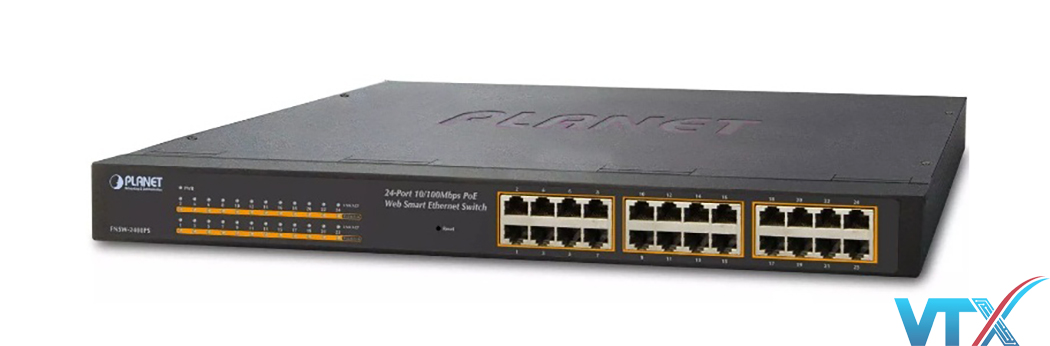 Switch PoE PLANET FNSW-2400PS