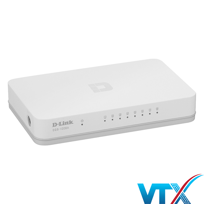 Switch chia mạng D-Link 8port DGS-1008A